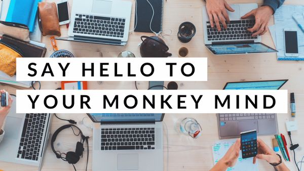 Say Hello To Your Monkey Mind