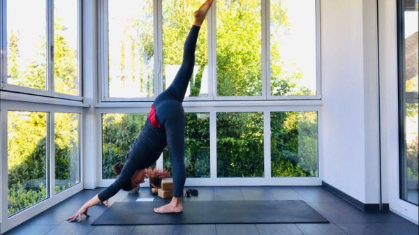 50-minute May Day Vinyasa with Rachel