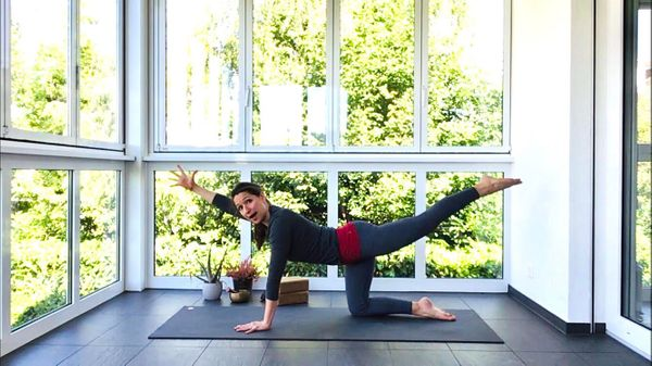 "60-minute ""Intro to Vinyasa"" Beginner Flow with Rachel"